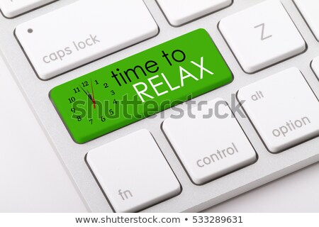 Keyboard with Time For Risk Button. Stock photo © tashatuvango