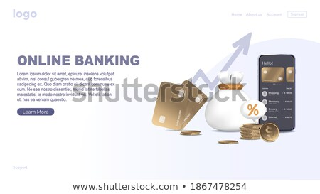Deposit Concept on Dark Digital Background. Stock photo © tashatuvango