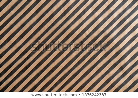 seamless diagonal stripes pattern on recycled paper, cardboard  Stock photo © creative_stock