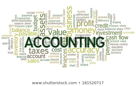 the word accounting in word clouds Stock photo © Istanbul2009