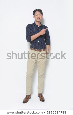 Male Posing Stock photo © vanessavr