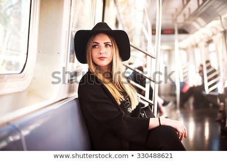 fashion woman in metro stock photo © nejron