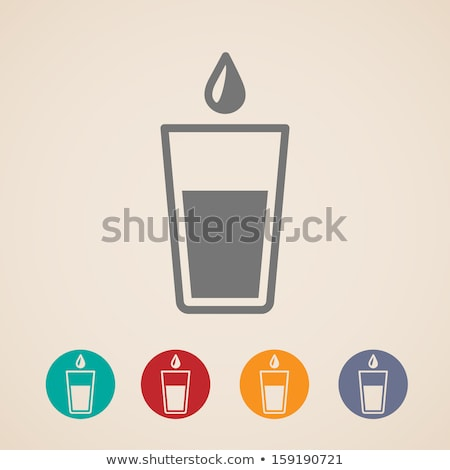 goblet with water Stock photo © 26kot