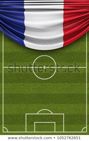 puntuación · objetivo · balón · de · fútbol · neto - foto stock © cienpies