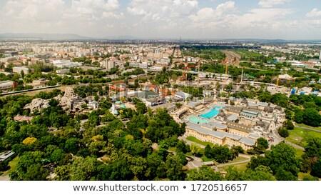 Banyo Budapeşte şehir park Macaristan Avrupa Stok fotoğraf © Sarkao
