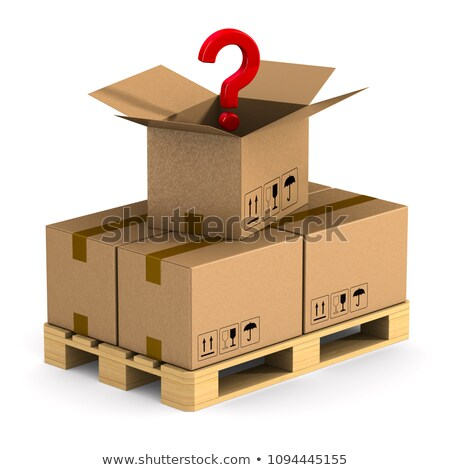 Cargo Question Stock photo © Lightsource