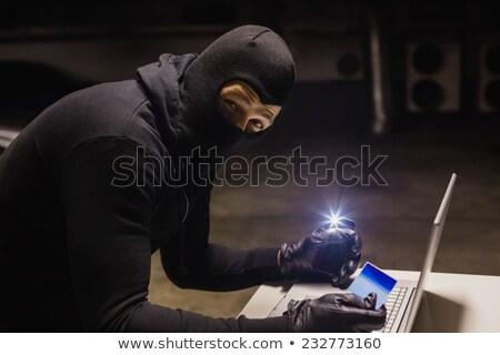Ladrão compras on-line luz preto Foto stock © wavebreak_media