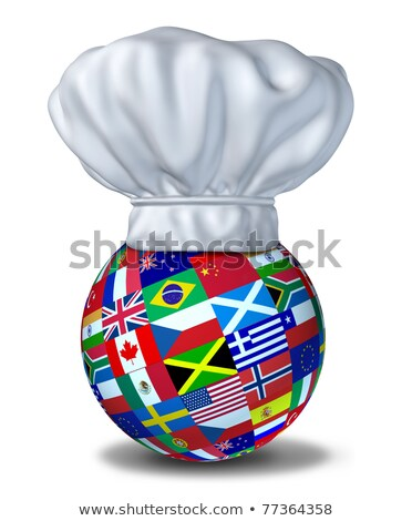 world with chef hat Stock photo © adrenalina