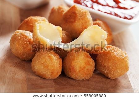 Mozzarella cheese balls and tomato Stock photo © Digifoodstock