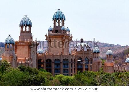 パノラマ 太陽 市 宮殿 失わ 南アフリカ ストックフォト © artush