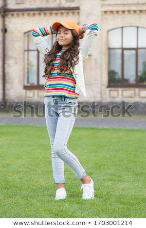 small girl on walk Stock photo © phbcz