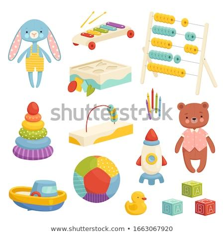 funny baby toys set. Stock photo © frescomovie