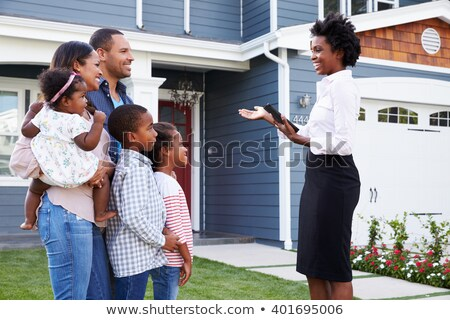 Real estate black Stock photo © Genestro
