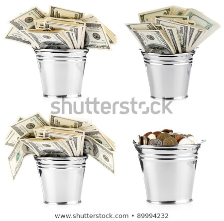 A pail of money Stock photo © bluering