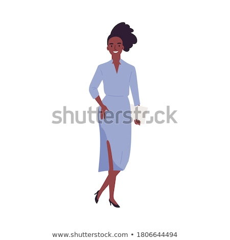 Woman wearing official casual style isolated on white Stock photo © Elnur