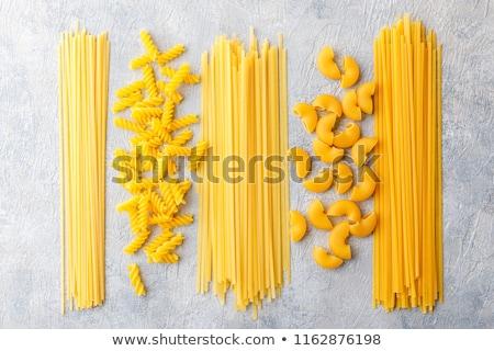 ciotola · essiccati · maccheroni - foto d'archivio © Digifoodstock