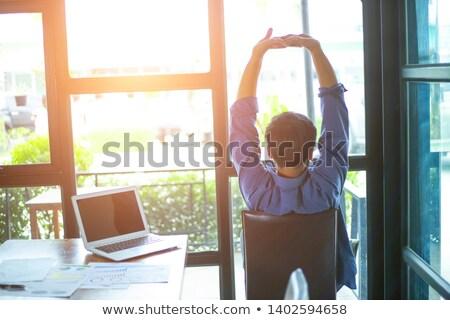 Pracowników biurowych działalności kobieta biuro biznesmen Zdjęcia stock © IS2