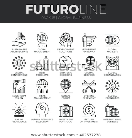Stock photo: Future Line Icons Set