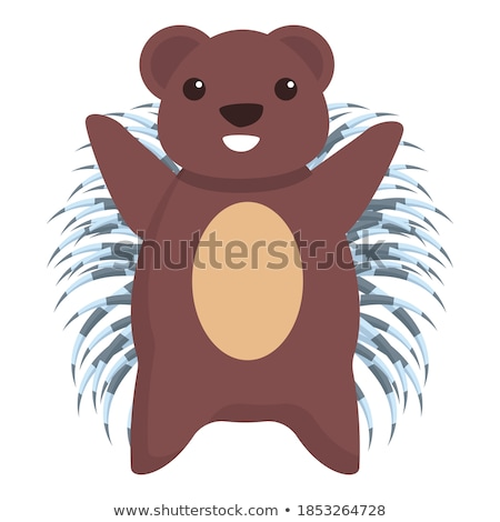 Smiling Little Porcupine Stock photo © cthoman