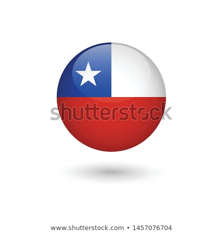 Chile bandiera frame illustrazione design sfondo Foto d'archivio © colematt