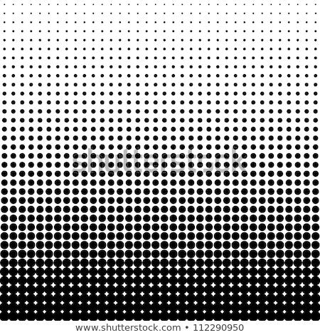 Czarno białe półtonów wzór streszczenie tle tkaniny Zdjęcia stock © SArts