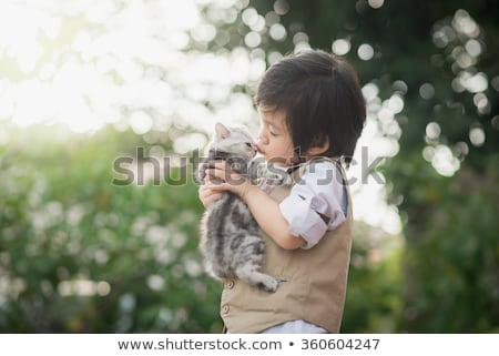 kid · jongen · zitten · sterretje · grillig · illustratie - stockfoto © sgursozlu