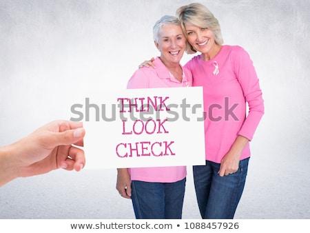 Pense Rechercher vérifier texte main Photo stock © wavebreak_media