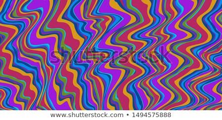 Renk kırmızı mavi soyut seksenler Stok fotoğraf © rogistok