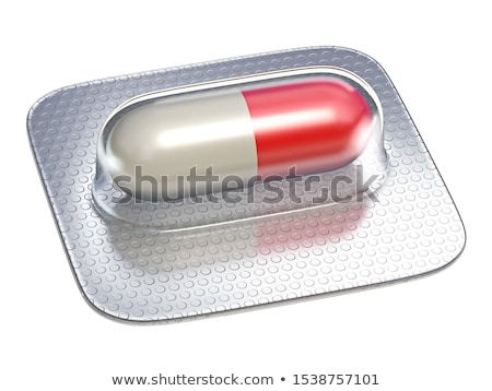 Rood · pil · geïsoleerd · ziekenhuis · pijn - stockfoto © djmilic