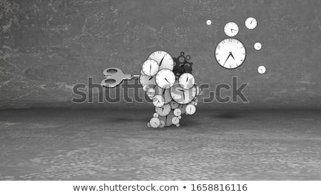 Close-up of clock hands Stock photo © nomadsoul1