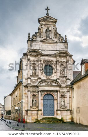 Capilla Francia qué edad cielo viaje Foto stock © borisb17