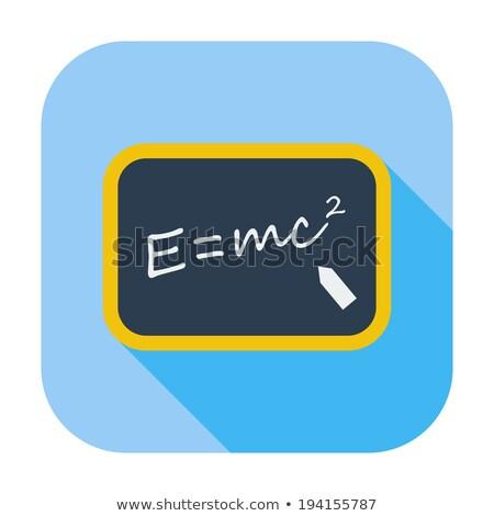 E=MC Squared Stock photo © mybaitshop