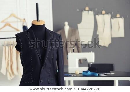 портной студию ткань бумаги швейных шаблон Сток-фото © caimacanul