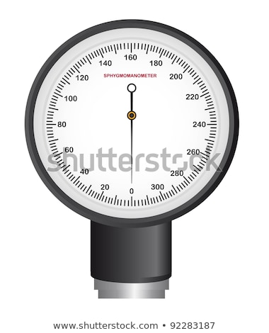 Single indicator for retro sphygmomanometer Stock photo © boroda