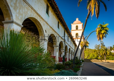 Santa Barbara Mission Stock photo © hlehnerer