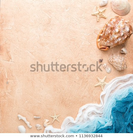 Tropical beach. Square composition. Stock photo © moses