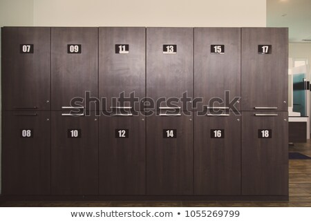 Wooden locker Stock photo © ozaiachin