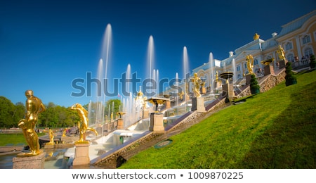 噴水 図 男性 カスケード ストックフォト © Roka