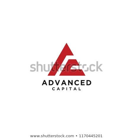 kırmızı · logo · soyut · imzalamak · web · hizmet - stok fotoğraf © butenkow