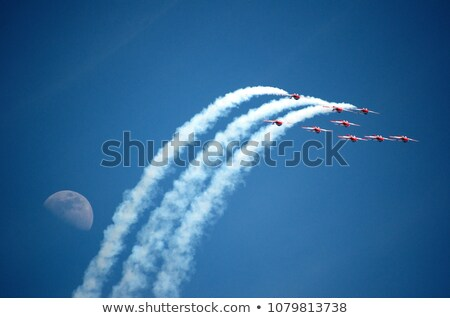 Aerobatic team at airshow  Stock photo © saddako2