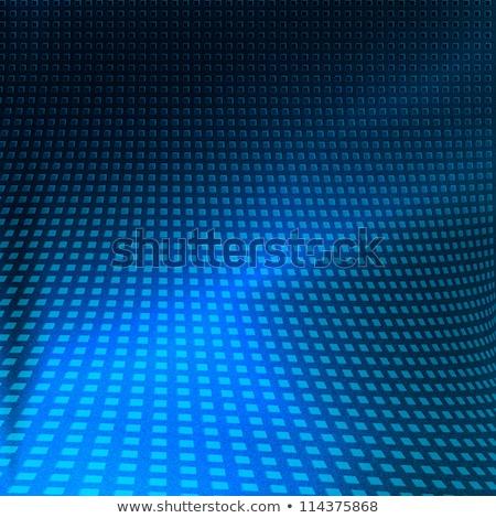 abstract blue background with shining squares stock photo © marinini