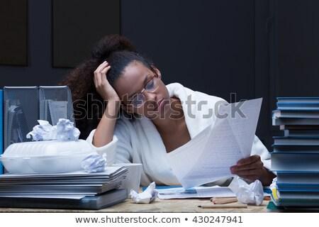 Female student revising Stock photo © photography33