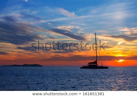 Ibiza san Antonio Abad de Portmany sunset Stock photo © lunamarina