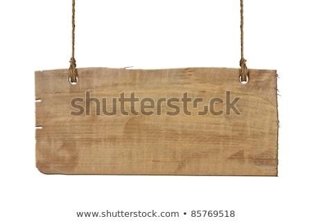 rope sign isolated on white background Stock photo © shutswis
