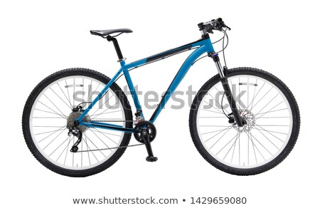 Mountain bicycle bike on white background Stock photo © vlad_star