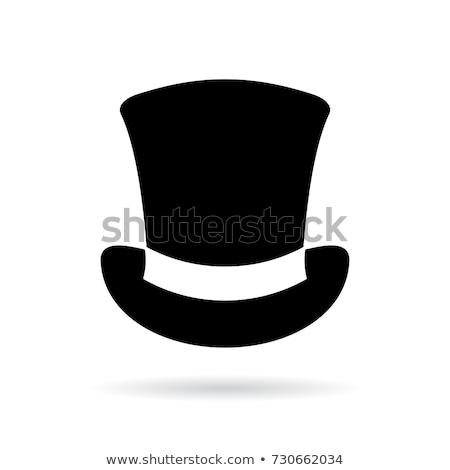 the silk hat Stock photo © flipfine