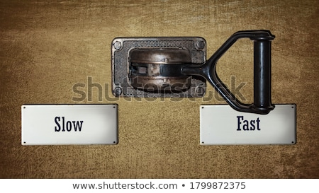 Slow Direction Stock photo © Lightsource