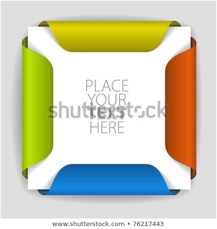 Importante etichetta file cassetto legno Foto d'archivio © tashatuvango