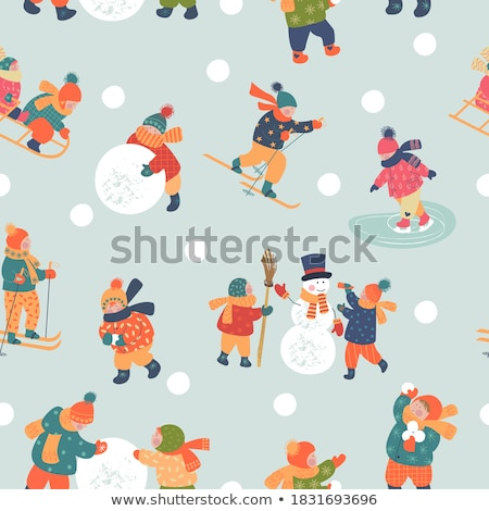 Winter activity Stock photo © pressmaster