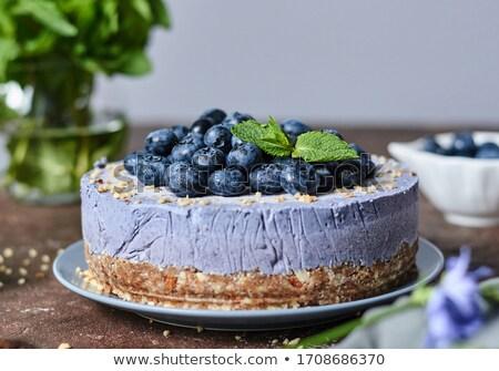 Bilberry Cheesecake Stock photo © cosma